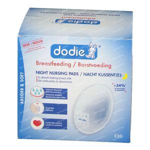 Dodie Brust Kompressen Nacht + Tape 30 st