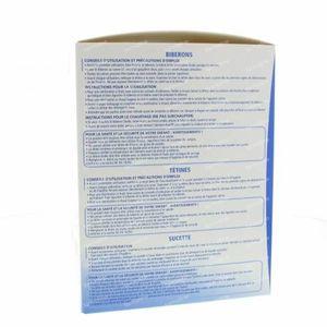 Dodie Geburtsdose Unisex Saugflasche + Zitze + Schnuller 1 st