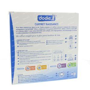 Dodie Geboortedoos Unisex Zuigfles + Zuigspeen + Fopspeen 1 stuk