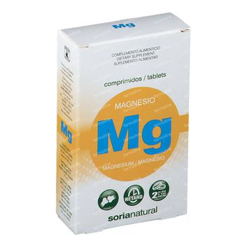 Soria Natural Magnesium 30 comprimés