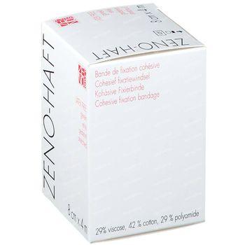 Zeno-Haft Cohésive Bandage Elastisch Latex Free 8cmx4m 1 pièce