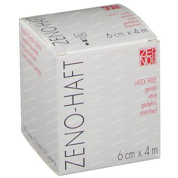 Zeno-Haft Cohésive Bandage Elastisch Latex Free 6cmx4m 1 pièce