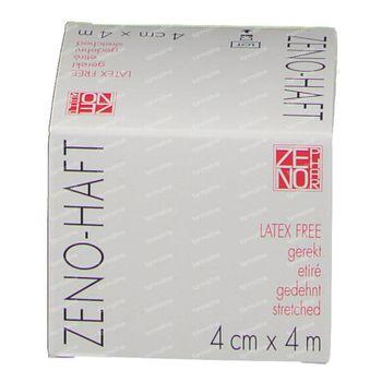 Zeno-Haft Cohesieve Windel Elastisch Latex Free 4cmx4m 1 stuk