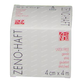 Zeno-Haft Cohésive Bandage Elastisch Latex Free 4cmx4m 1 pièce