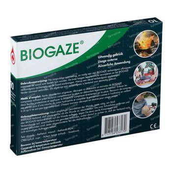 Biogaze Bandage 10x10cm 10 pièces