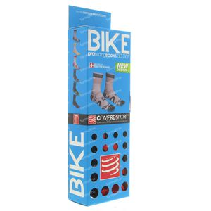 Compressport Proracing Chaussettes Bicyclette BL/RE Taille 3 1 pièce