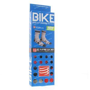 Compressport Proracing Socken Fahrrad BL/RE Maß 4 1 st