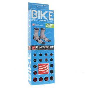 Compressport Proracing Socken Fahrrad BL/RE Maß 5 1 st