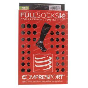 Compressport Chaussettes Noir Taille 2L 1 pièce