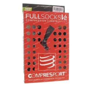 Compressport Socken Schwarz Maß 3L 1 st
