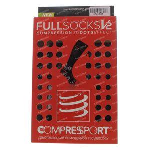 Compressport Chaussettes Noir Taille 4M 1 pièce