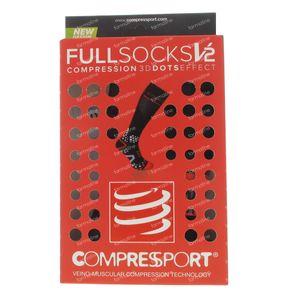 Compressport Chaussettes Noir Taille 4L 1 pièce