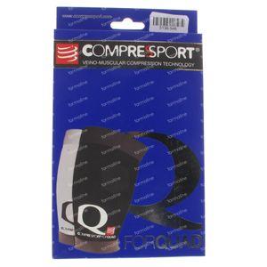 Compressport Voor Quadriceps Zwart Maat 3 1 stuk