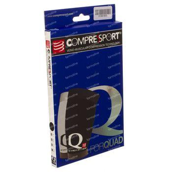 Compressport For Quad Black 4 1 pièce