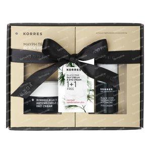 Korres Black Pine Creme Nacht + Ogen 55 ml