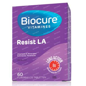 Biocure Resist Long Action 60 St Dragees