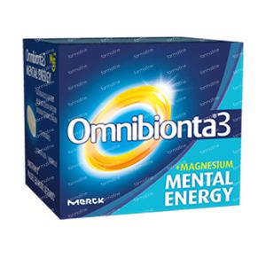Omnibionta 3 Mental Energy 90 St Tablets