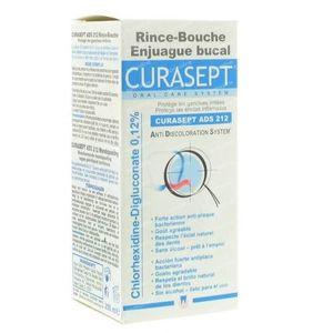 Curasept Eau Dentifrice 0,12% Ads212 200 ml