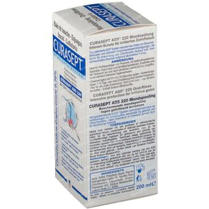 Curasept Eau Dentifrice 0,20% Ads220 200 ml