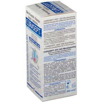 Curasept Eau Dentifrice 0,20% Ads220 200 ml