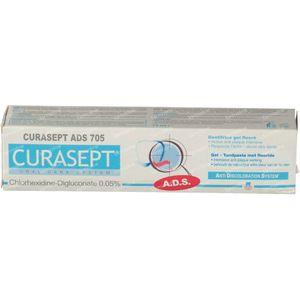 Curasept 0.05% Gel Toothpaste Ads705 75 ml