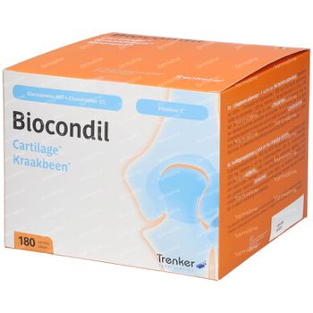 Biocondil chondroitine glucosamine vitamine C 180 zakjes