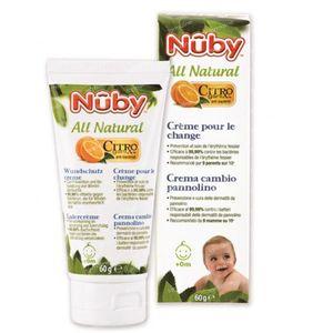 Nuby Citroganix Crème Pour Le Change 60 g