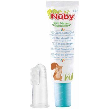 Nûby Citroganix Dentrifice + Doigt Brosse à Dents 1 set