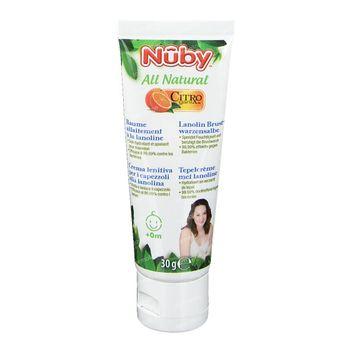 Nuby Citroganix Crème Mamelon + Lanoline 30 g