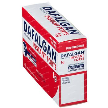 Dafalgan Instant Forte 1g 10 sachets