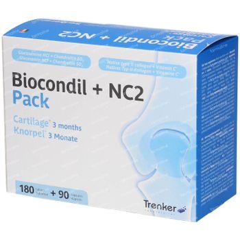 Biocondil + NC2 Pack Cartilage 270 kapseln