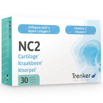 NC2 Native Collagen II Kraakbeen 30 capsules