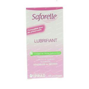 Saforelle Lubrifiant 15 St unidosis