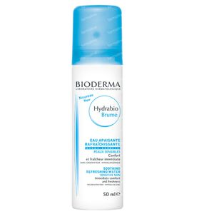Bioderma Hydrabio Eau Apaisante Rafraîchissante 50 ml spray