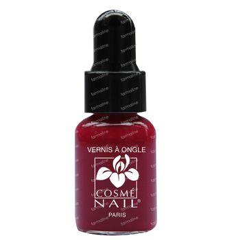 Lisandra Cosménail Vernis A Ongles 45 Rouge Groseille 5 ml