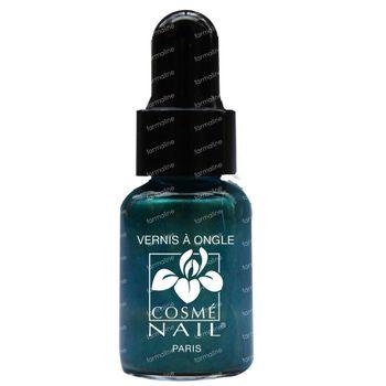 Lisandra Cosménail Vernis A Ongles 120 Vert Canard Nacre 5 ml