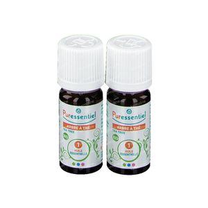 Puressentiel Duo Tea Tree Bio Huile Essentielle 2x10 ml