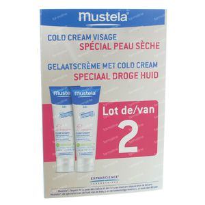 Mustela Cold Cream - Facial Duo 80 ml