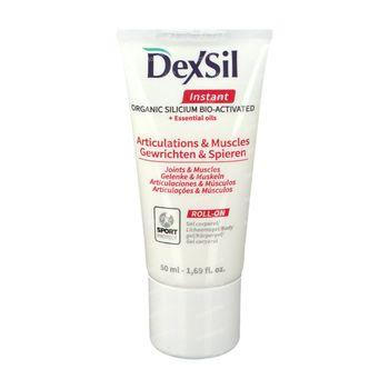 DexSil Instant Joints & Muscles Gel Roll-On 50 ml roller