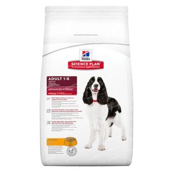 Hills Science Plan voor Medium Volwassen Hond met Kip 12 kg