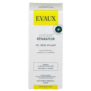 Evoskin Crème Gel Réparatrice 50 ml crème