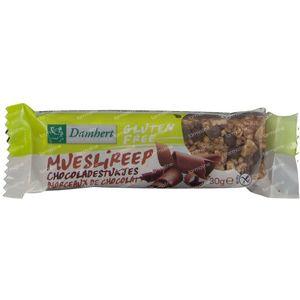 Damhert Glutenvrije Mueslireep Chocolade 30 g