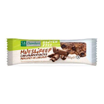 Damhert Barre Granola Chocolat Sans Gluten 30 g