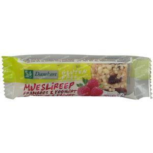Damhert Glutenvrije Mueslireep Framboos & Yoghurt 30 g