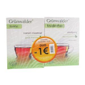Grunwalder Transit Tea Mint -1€ 40 St Bags