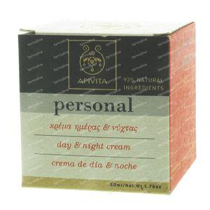Apivita Personal Line Dag & Nacht 50 ml crème