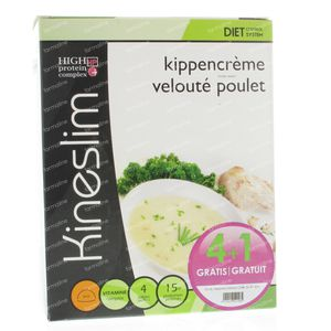 Kineslim Chicken Cream Soup 5 stuks Bustine
