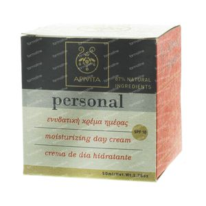 Apivita Personal Line Crème de Jour Hydra SPF10 50 ml crème