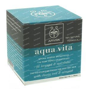Apivita Aqua Vita Droge Huid 50 ml crème