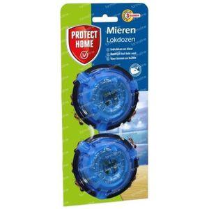 Protect Home Fourmier Pushbox Mierenlokdoos 2 stuks